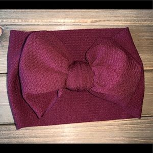 Other - Baby Head Wrap - Blood Red